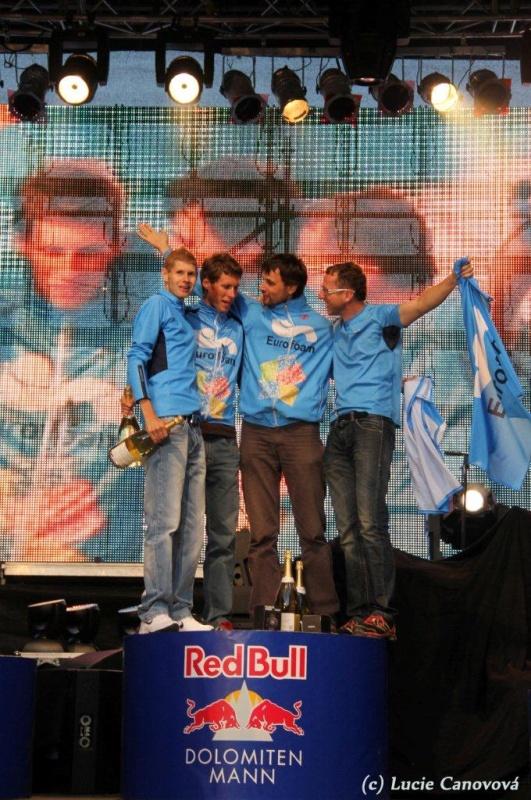 Dolomitenmann 8.9.2012 - Blahopřejeme k 1. místu