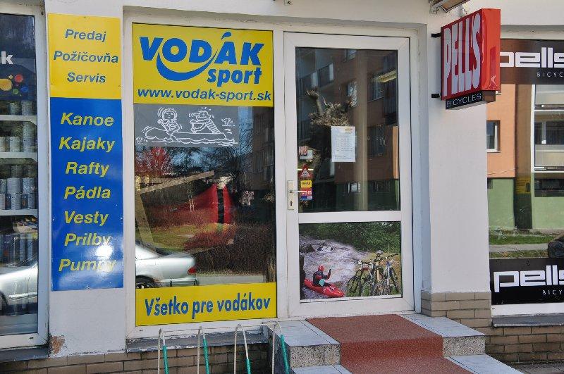 Nov� prodejna VOD�K sport vKo�ic�ch