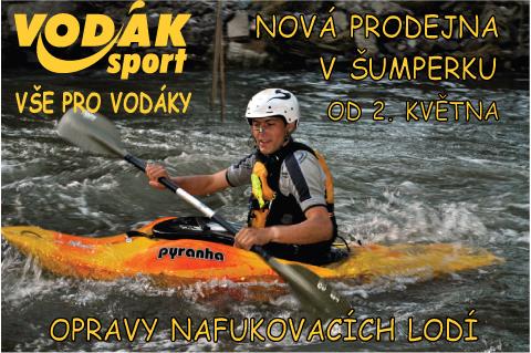 Nov� prodejna VOD�K sport v�umperku