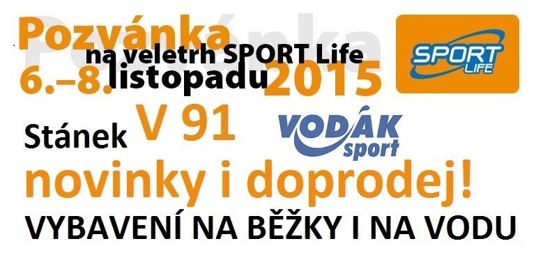 Přijďte na Sport Life 2015