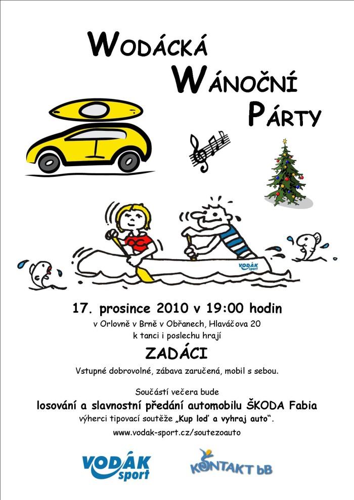 Wodácká Wánoční Párty 17. 12. 2010